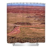 Painted Desert #3 Shower Curtain