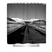 Painted Desert Road #2 Shower Curtain