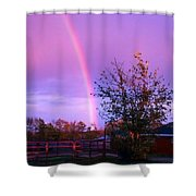 Painted Dreams Farm Shower Curtain