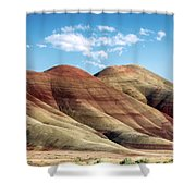 Painted Hills Colors Shower Curtain