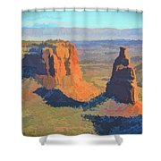 Painted Mesa Shower Curtain