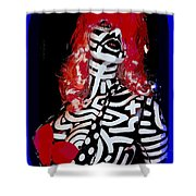 Painted Penny Shower Curtain
