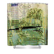 Painted Reflections Shower Curtain