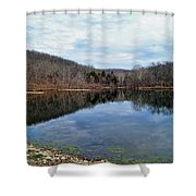 Painted Rock Conservation Area Shower Curtain