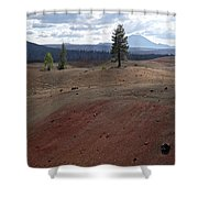 Painted Sands Shower Curtain