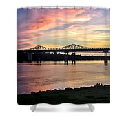 Painted Sky Shower Curtain