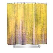 Painted Trees IIi Shower Curtain