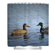 Painterly 2 Eye For You Shower Curtain