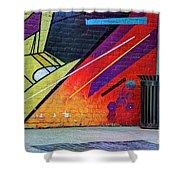 Painterly 5 Shower Curtain