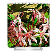 Painterly Effects Shower Curtain