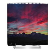 Painters Sky Shower Curtain