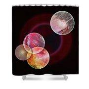 Painter's Universe Shower Curtain