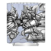 Painting 156 Shower Curtain
