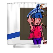 Painting 197 Shower Curtain