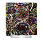 Painting 226 Shower Curtain