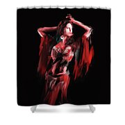 Painting 703 3 Dancer 8 Shower Curtain