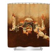 Painting 768 4 Hagia Sophia Shower Curtain