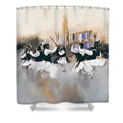 Painting 785 3 Attan Shower Curtain