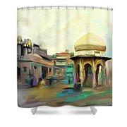 Painting 798 3 Chowk Yaadgar Shower Curtain