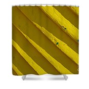 Painting It Yellow Shower Curtain