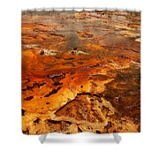 Painting Of Nature Shower Curtain