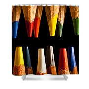Painting Pencils Shower Curtain