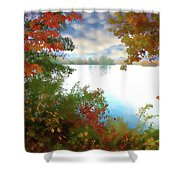 Paints Of Fall Shower Curtain