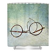 Pair Of Glasses Shower Curtain