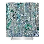 Paisley Trio 3 Shower Curtain