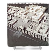 Palace At Khorsabad Shower Curtain