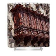 Palace Balcony Shower Curtain