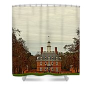Palace Green Shower Curtain