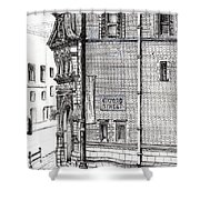 Palace Hotel Oxford Street Manchester Shower Curtain