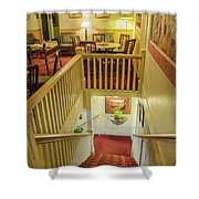 Palace Hotel Staircase Shower Curtain