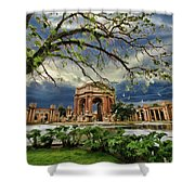 Palace Of Fine Art Shower Curtain