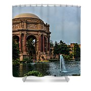 Palace Of Fine Arts -1 Shower Curtain