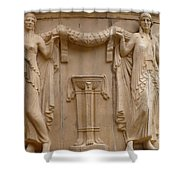 Palace Of Fine Arts Ladies Shower Curtain