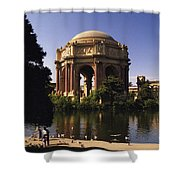 Palace Of Fine Arts Sf Shower Curtain