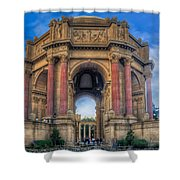 Palace Of Fine Arts With Atmospherics  Shower Curtain