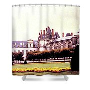 Palace Of Fontainebleau 1955 Shower Curtain