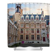 Palace Of Gruuthuse In Brugge Shower Curtain