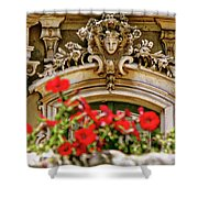 Palace Of Queluz Portugal Shower Curtain