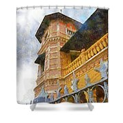 Palace Of The Iturriza Shower Curtain