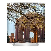 Palace Rotunda II Shower Curtain by Kate Brown