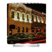 Palace Saloon Car Show Drive By Shower Curtain