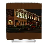 Palace Saloon Parking  Shower Curtain
