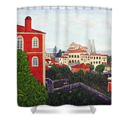 Palace - Sintra Shower Curtain
