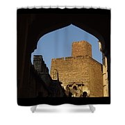 Palace Through The Arch Shower Curtain