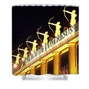 Palacio De Congresos Shower Curtain