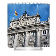 Palacio Real Shower Curtain
